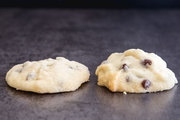 Easy Chocolate Chip Whipped Shortbread - An Italian in my Kitchen #whippedshortbreadcookies