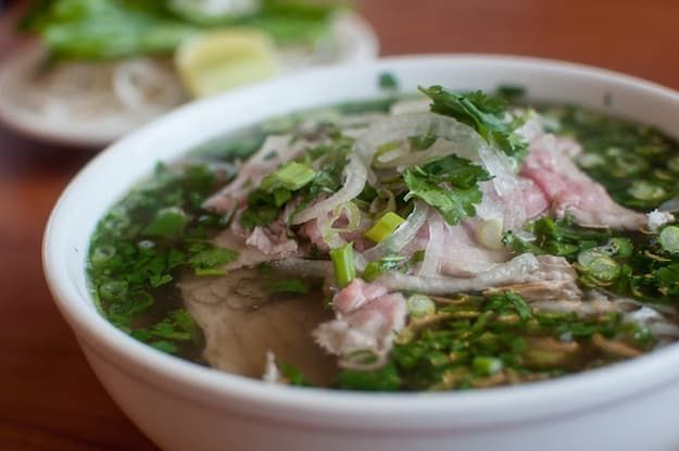 """DUH: I couldn't end a list of Vietnamese food without phở! FYI: it's pronounced as """"fuh"""" (hey, that rhymes!)"""