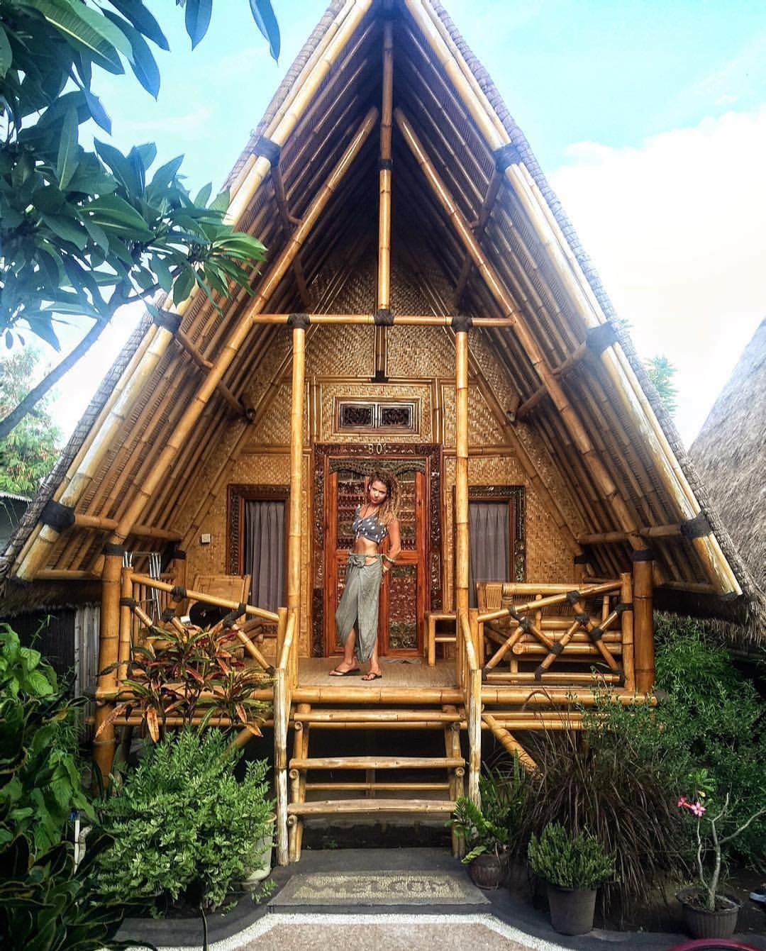 I Want To Stay In A Bungalow Like This In Bali Tiny