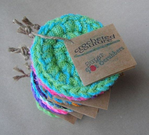 Super Pot Scrubber | Crochet - Cloths and Towels | Pinterest ...