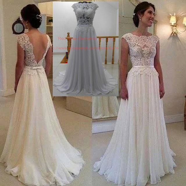 Vestido de casamento simples