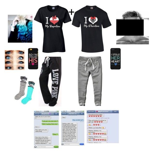 """Hanging with bae❤️"" by kristinvm15 on Polyvore featuring Abercrombie & Fitch, Victoria's Secret, Victoria's Secret PINK and Samsung"