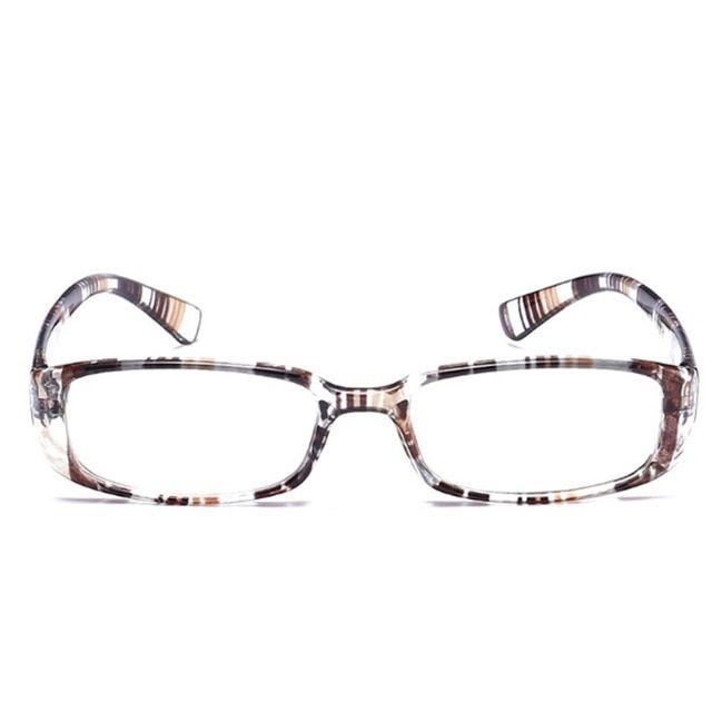 bdff3938dd Men Women Flexible Reading Glasses Reader Strength Presbyopic Glasses  stripe frame 1.0~ 4.0 W715 Review