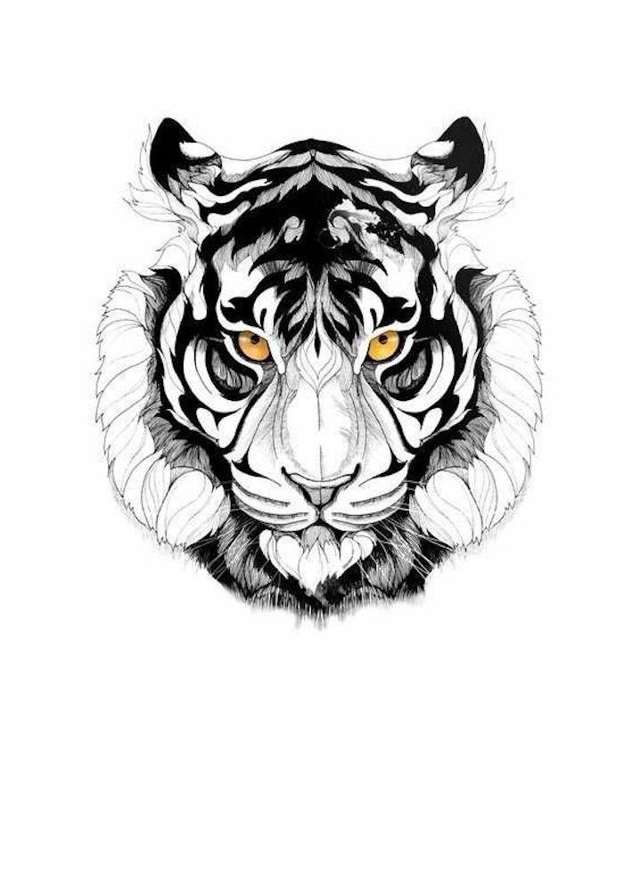 1001 Ultra Coole Tiger Tattoo Ideen Zur Inspiration Tiger Tattoo Tiger Illustration Tiger Tattoo Vorlagen