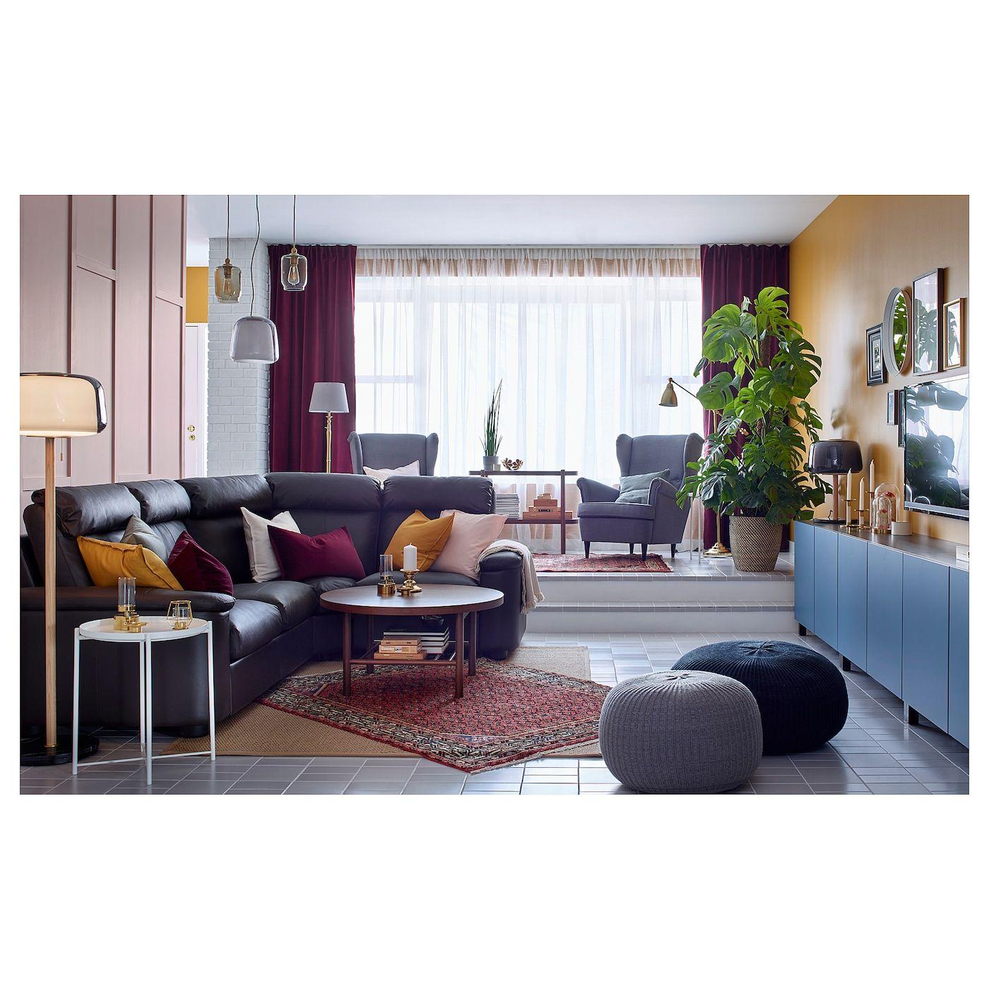 Lidhult Sectional 4 Seat Corner Grann Bomstad Dark Brown Ikea In 2021 Living Room Furniture Inspiration Living Room Designs Living Room Inspiration [ 1400 x 1400 Pixel ]