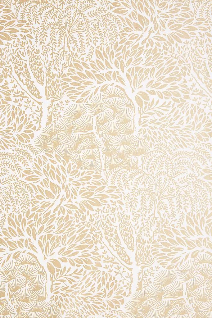 Magnolia Home Olive Branch Wallpaper