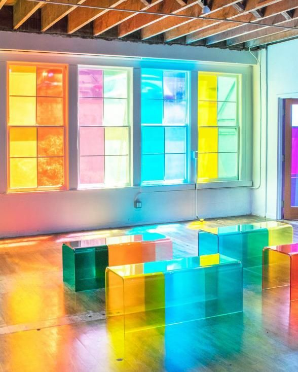 10 Bold, Colorful Pop-Up Art Installations That Are Totally On-Trend Right Now #artinstallation