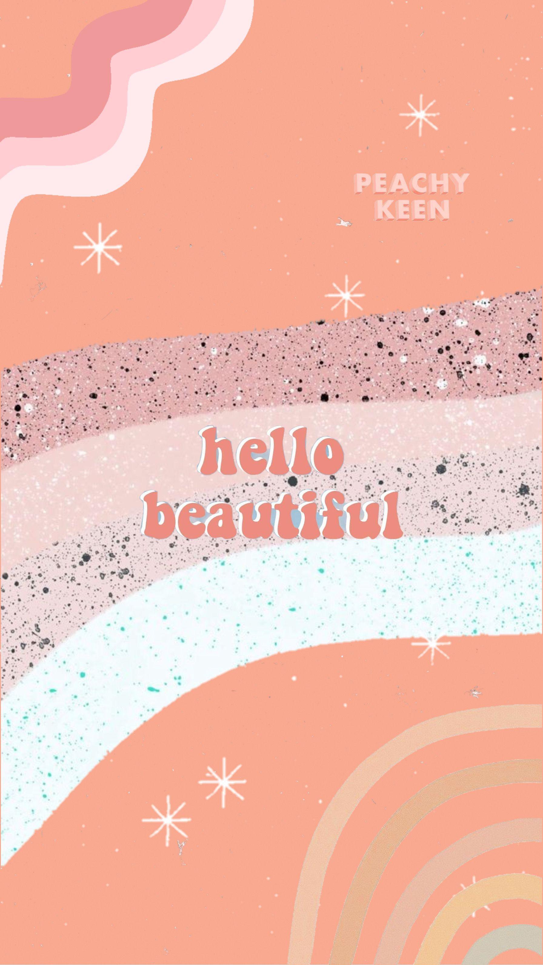 Wallpaper Aesthetic Peach Peach Wallpaper Kawaii Wallpaper Aesthetic Iphone Wallpaper