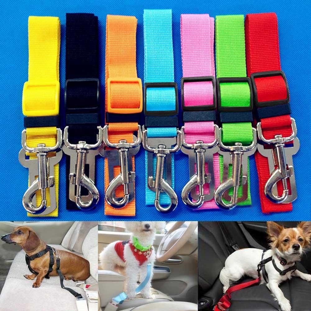 Pets Adjustable Safety Vehicle Seat Belt Pet Car Seat Dog Seat