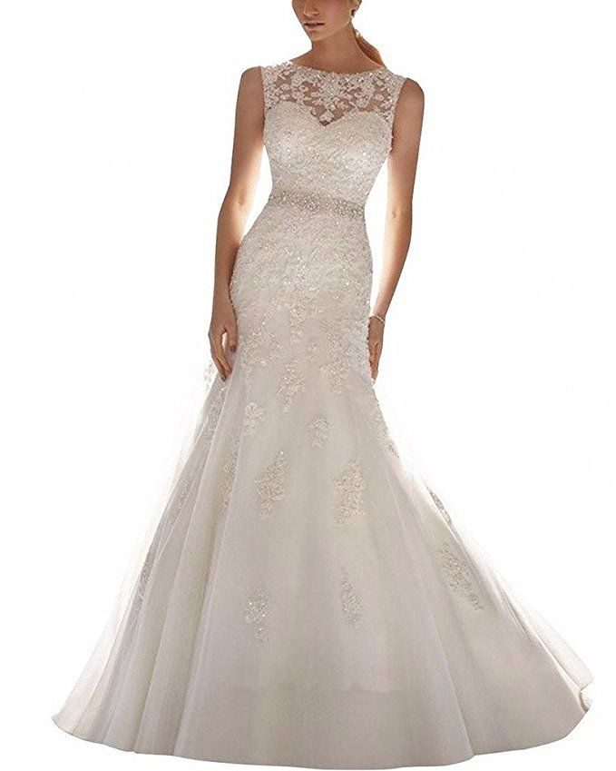 b33e60303d The Best Wedding Dresses to Buy on Amazon Under  200  bridal  wedding  gown   amazon  dresses