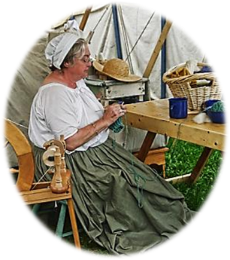 "1840 Pioneer Clothing | Also known as ""Ruby"", will spin a yarn of her heroic journey from ..."