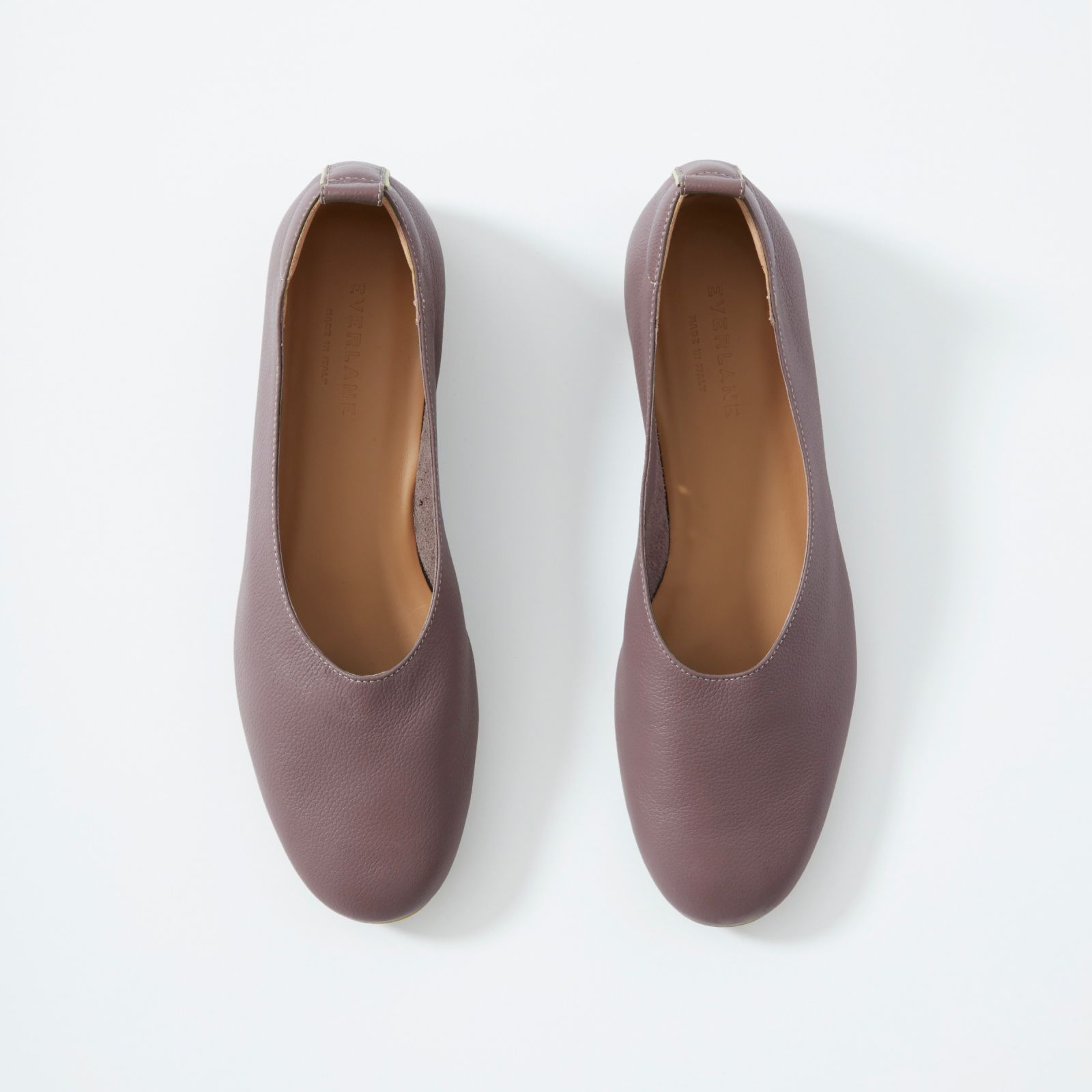 Womenu0027s Ballet Flat By Everlane In Mauve