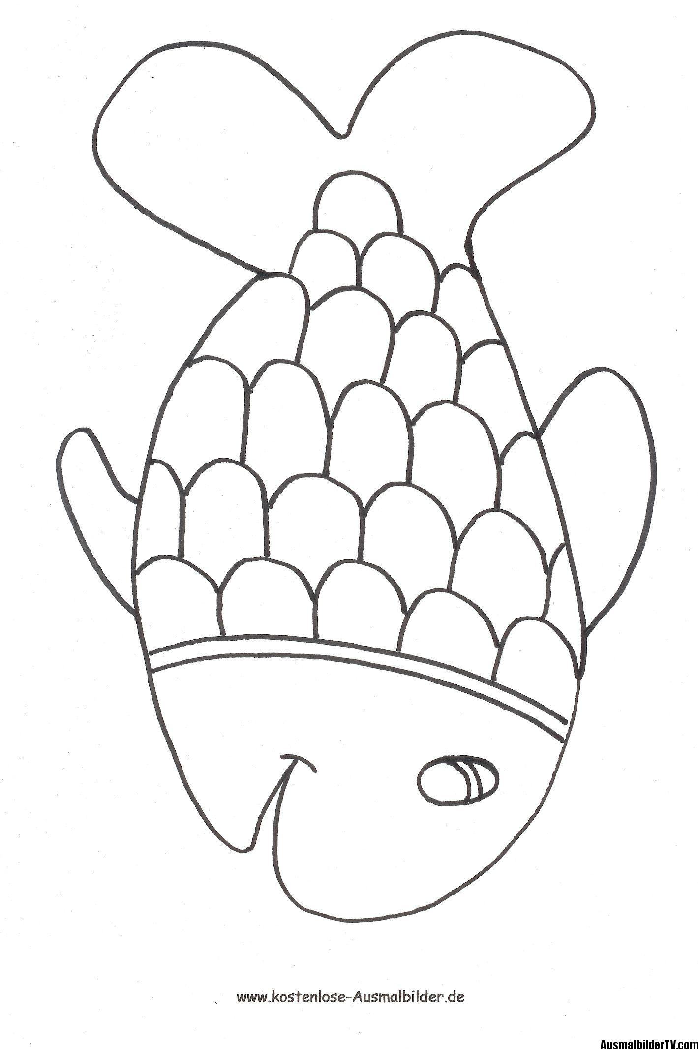 √ Fisch Malvorlage Kostenlos Fischlexikon
