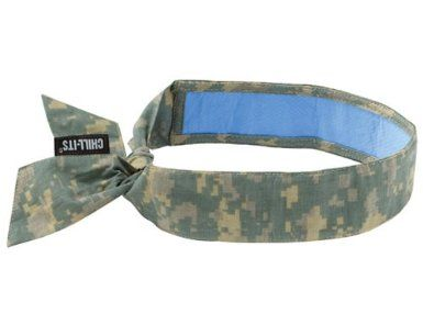 Ergodyne Chill Its 6700ct Evaporative Cooling Bandana With Cooling