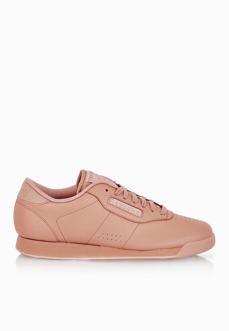 26b559e23183 Reebok Women s Princess Spirit Pink Nude Sneakers