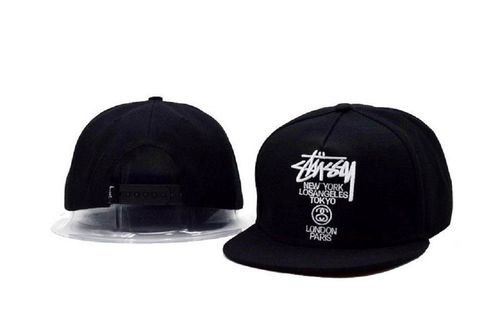 162d3a77b44 2018 New Fashion Stussy Hip Hop Flat Snapback Hat