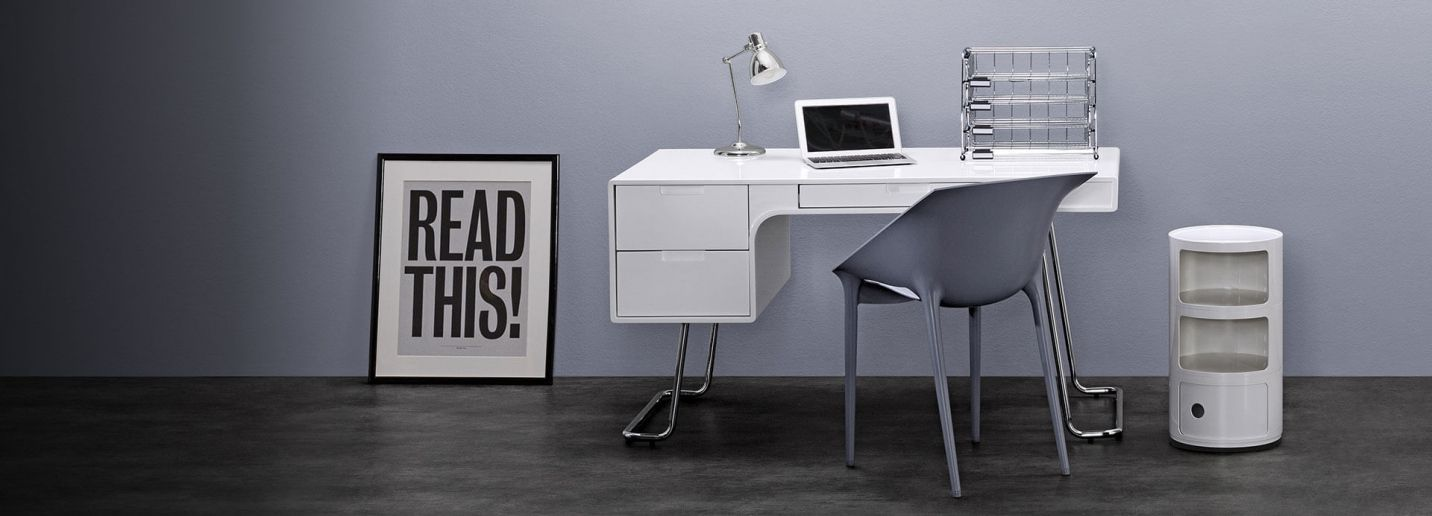 Gray Home Office Furniture