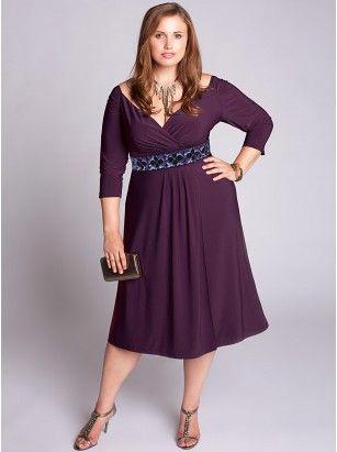 ba3671a3966 ... Dress with Empire Waist. fun color and length