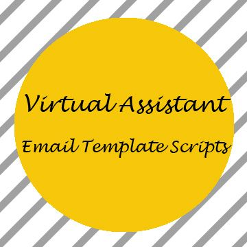 Virtual assistant email template scripts virtual assistant virtual assistant email template scripts pronofoot35fo Choice Image
