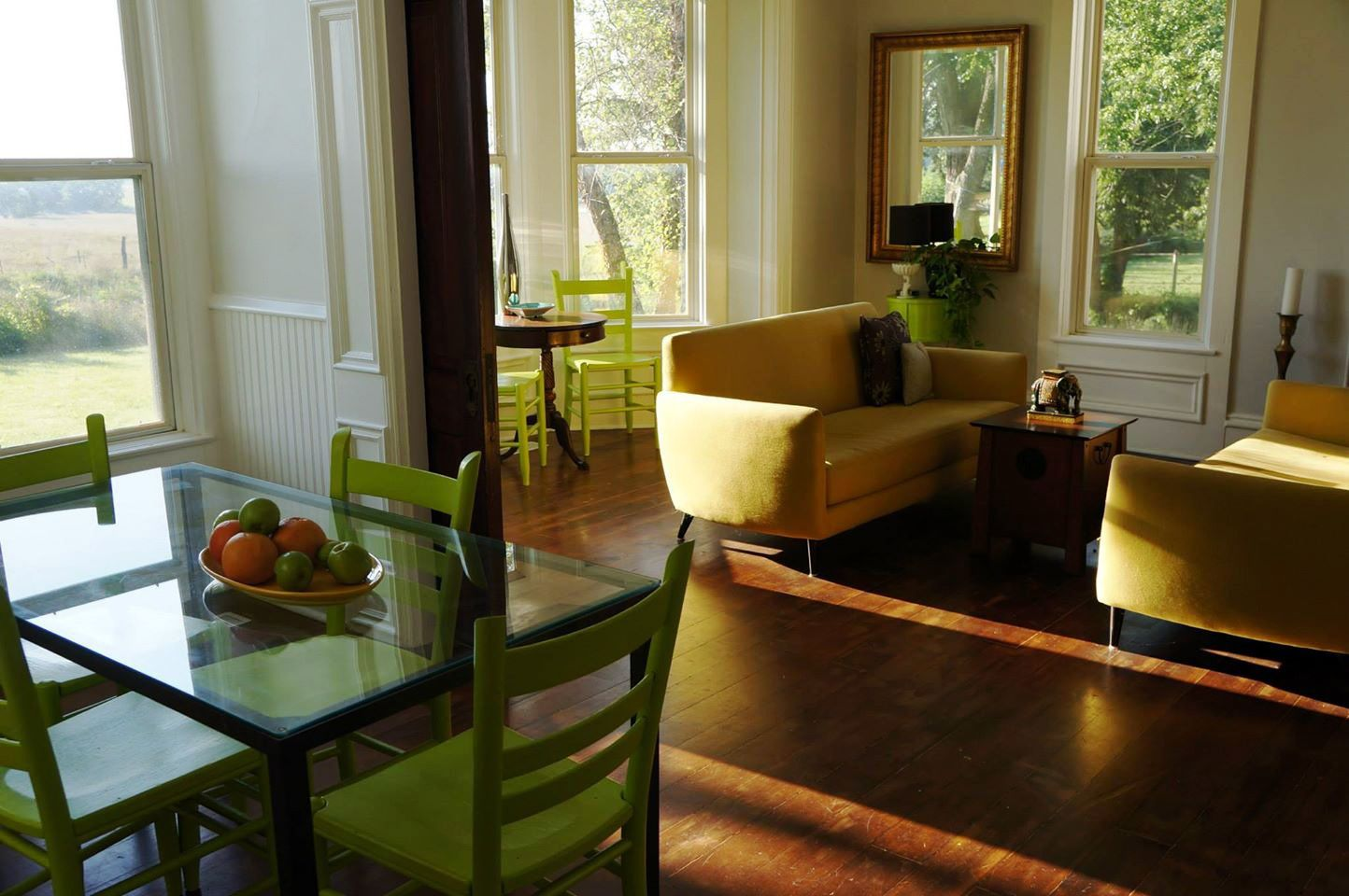 The farm fresh bed & breakfast located in just south of