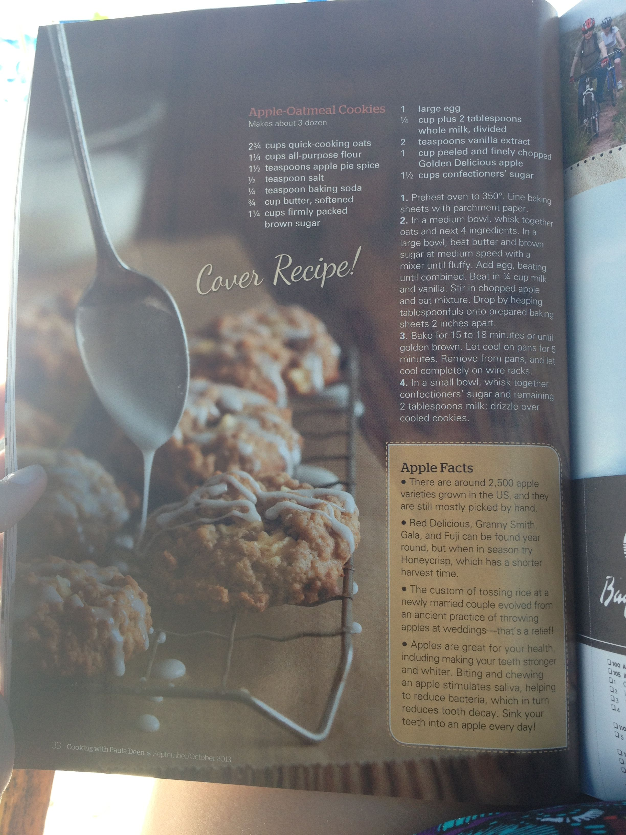 Fantastic Apple Oatmeal Cookies Recipe From Paula Deen In Her Fall Download Free Architecture Designs Parabritishbridgeorg
