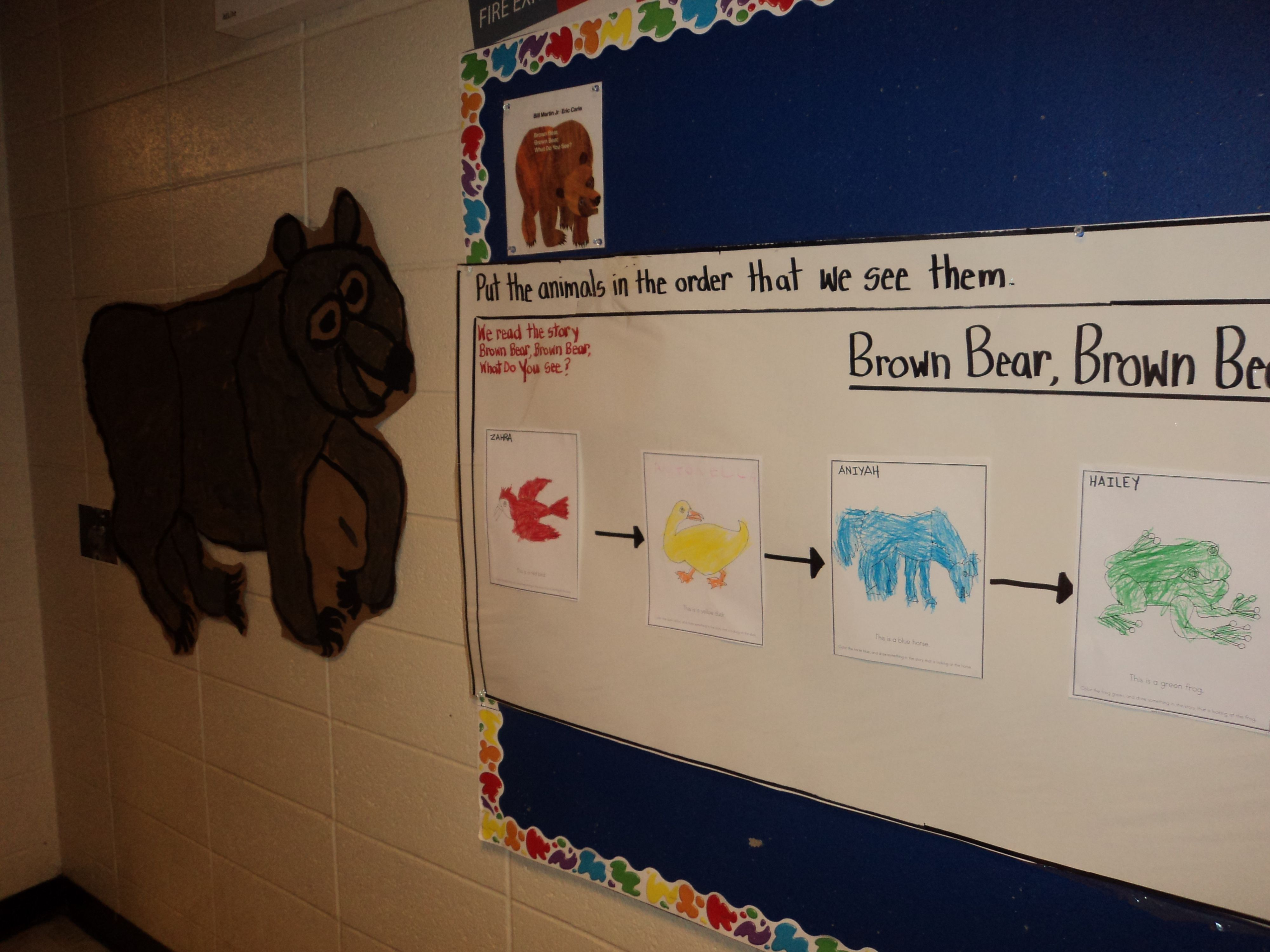 Flow Map For Hallway Brown Bear Brown Bear Thinking Maps