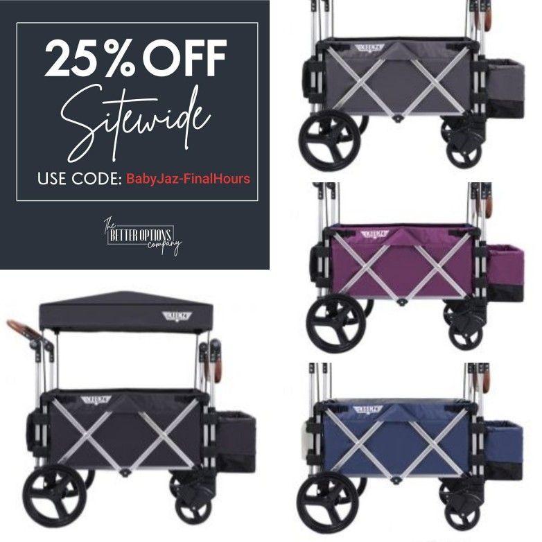 Keenz 7S Stroller Wagon, Blue Stroller, Beach wagon, Wagon