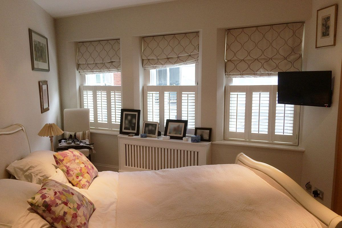 Explore our gallery Bedroom shutters, Interior shutters