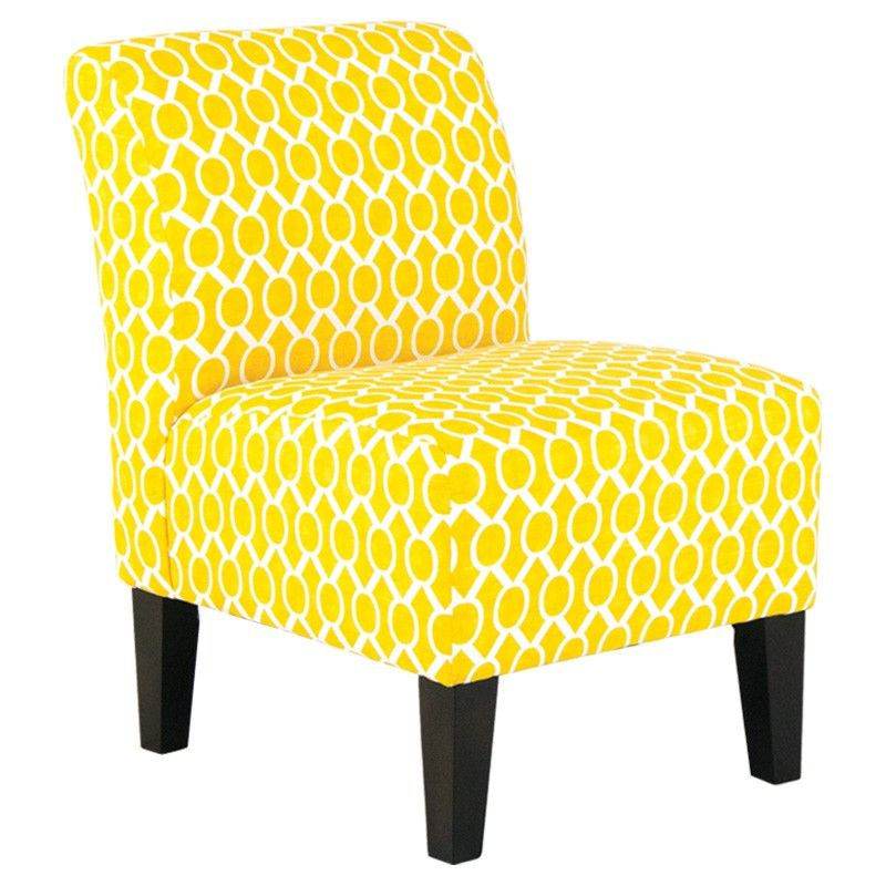 Bombay Catherine Corn Accent Chair Yellow Accent Chairs Accent