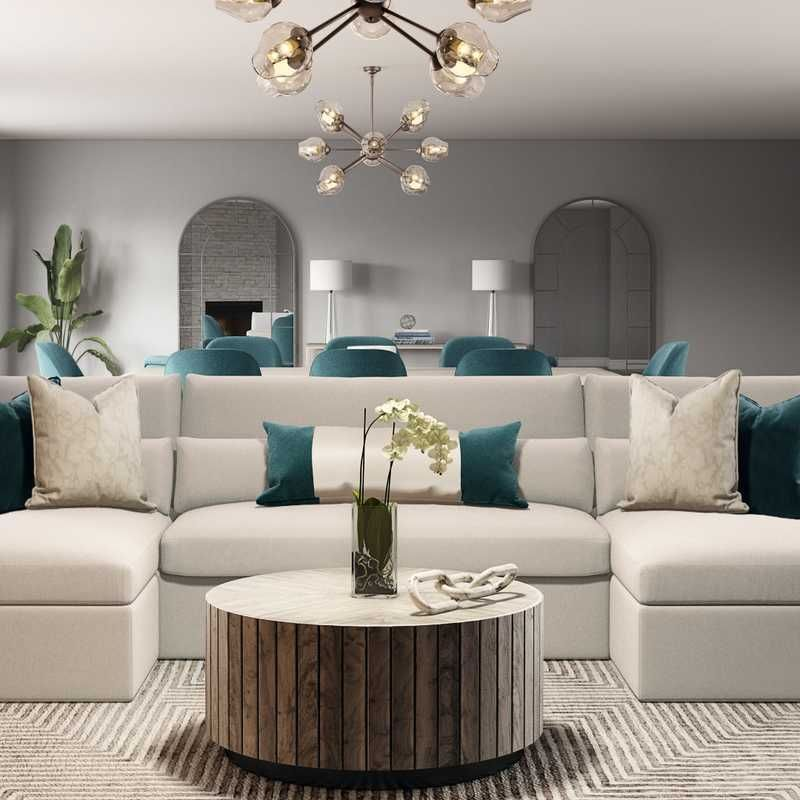 25 Living Room Interior Design Ideas Havenly Glam Living Room Teal Living Rooms Contemporary Lounge