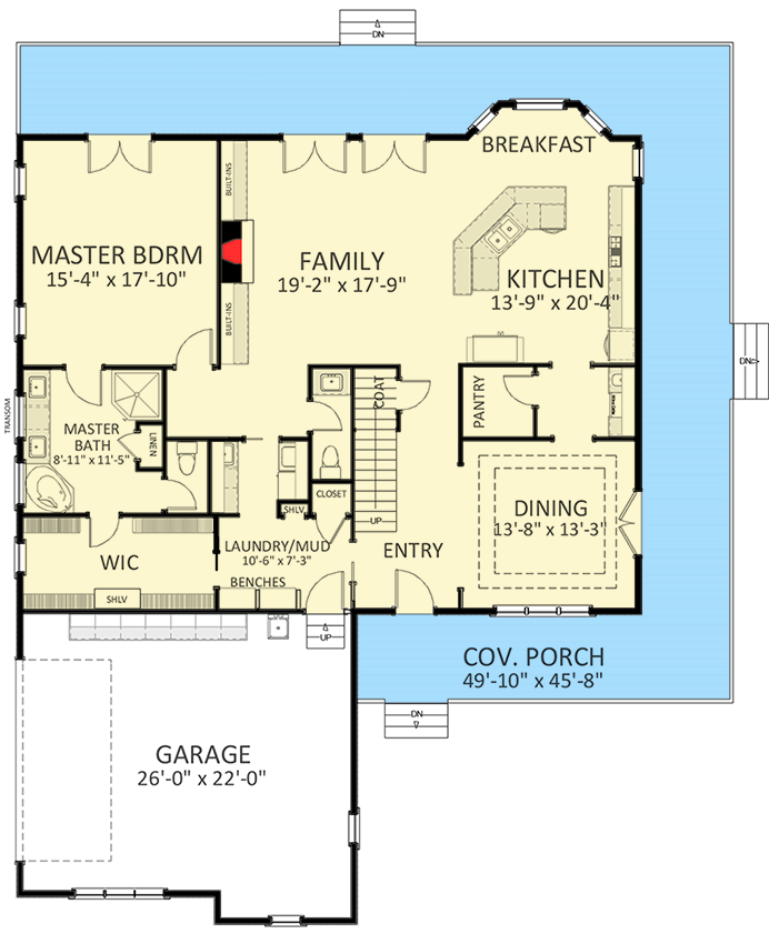 Beautiful House Plans With Wrap Around Porch And Bonus Room ...