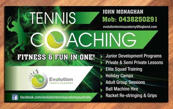 Newspaper Ad design from YourDesignPick for Evolution Tennis ...