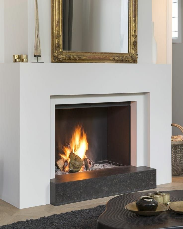 The LifeStyle Concept's style isn't necessary modern. Also more classic elements can fit in. Here is a comtempory open fire combined with a rather classic mirror. It is just how you combine everthing...
