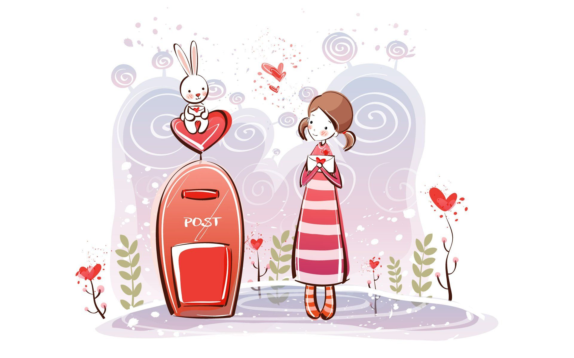 Beautiful Love Couple Cartoon HD Wallpaper Download - 1f8c7f2b4aac54791b9824ac40108cbd  Graphic_391613.jpg