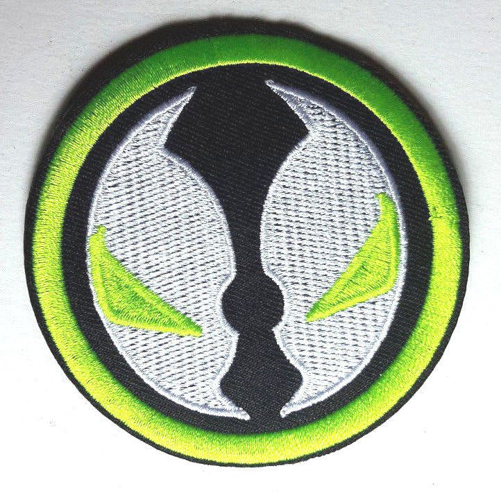 """Spawn Logo 3"""" Embroidered Patch- Image Comics- USA Mailed"""