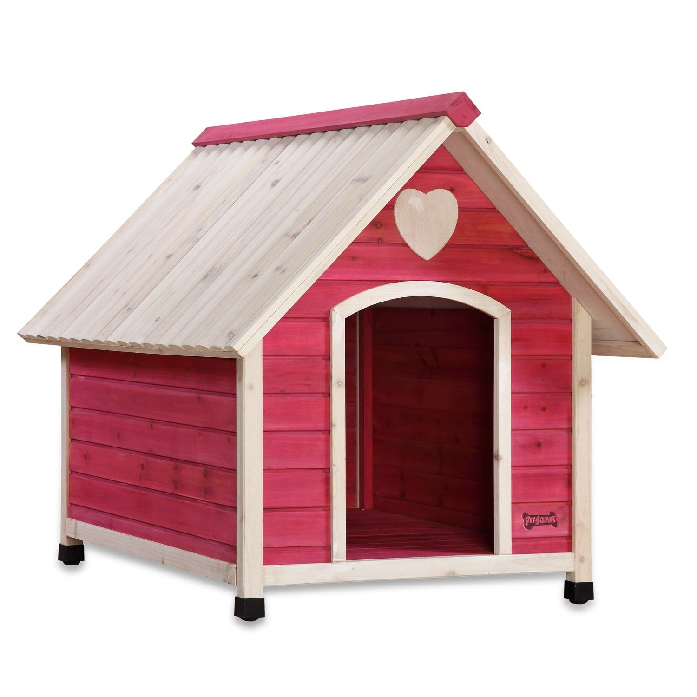 Pet Squeak Pink Arf Frame Dog House Large Pet Wellbeing