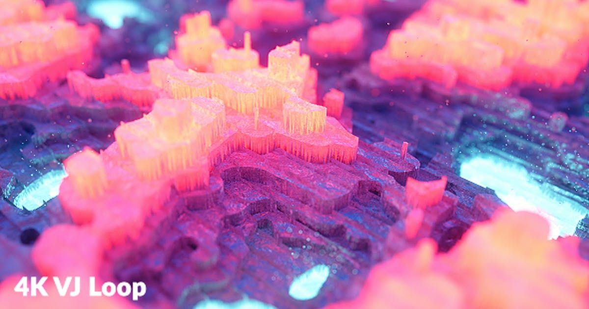 Crystal VJ Loop by levmotion on Envato Elements Crystals