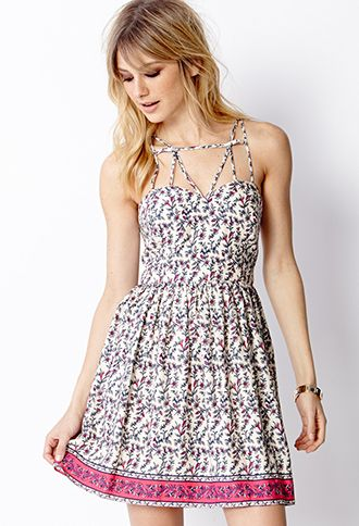 bff5580ac89 Floral Sweetheart Dress for  27.80. http   www.rewards4mom.com 20-adorable- forever-21-dresses