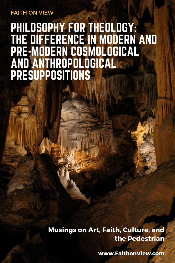 Cosmological And Anthropological Presuppositions Theology Philosophy Faith