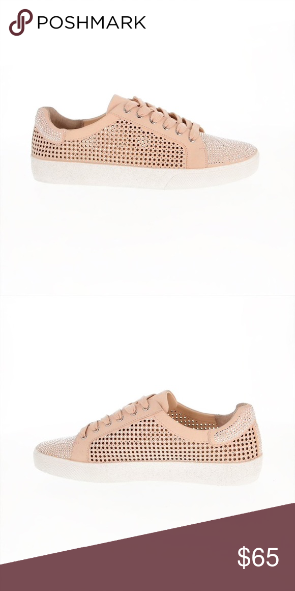 931611f7d8a NWT Vince Camuto Chenta Studded Perforated Sneaker New Vince Camuto Chenta  Studded and Perforated Sneaker Never