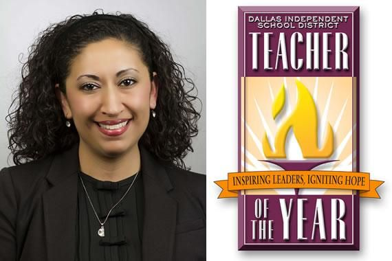 Silvia Alonzo selected as Dallas ISD Teacher of the Year