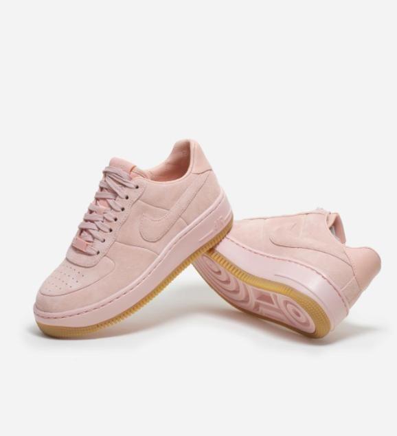 544de76b1f0e 快告诉男友这列入我情人节礼物清单!Nike Air Force 粉嫩梦幻系列baby blue baby pink出击!