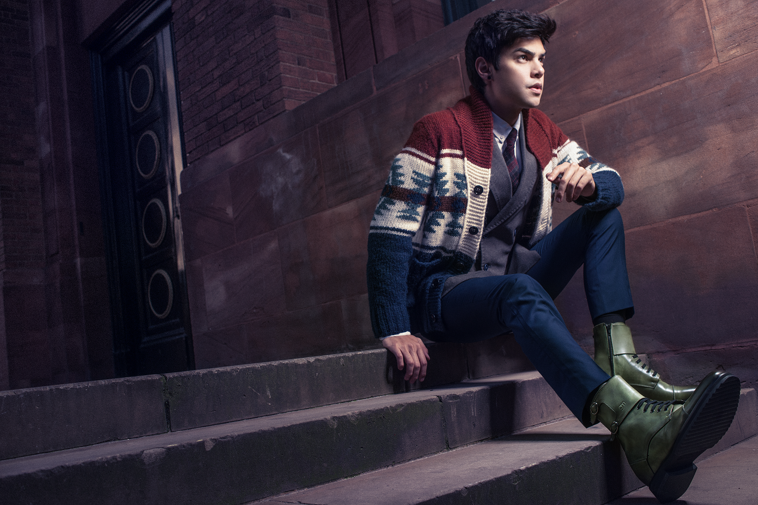 8163eced05d Vini Uehara is wearing the Portland elevator boots by GuidoMaggi. Get them  now   http