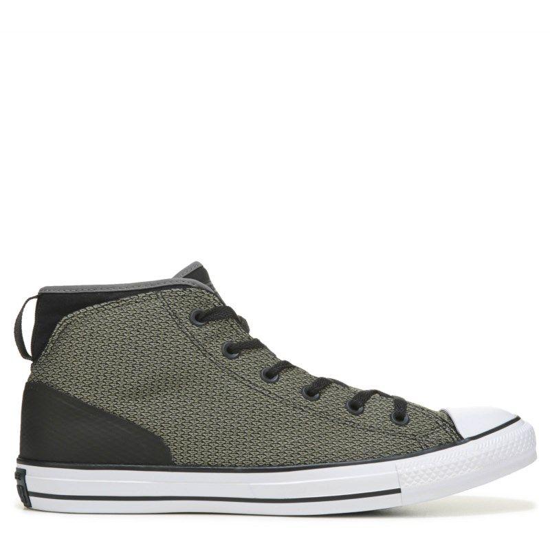 Mens Converse Chuck Taylor All Star Syde Street Reflect Sneaker GreenBlackWhite