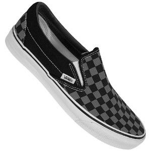 black checkered vans