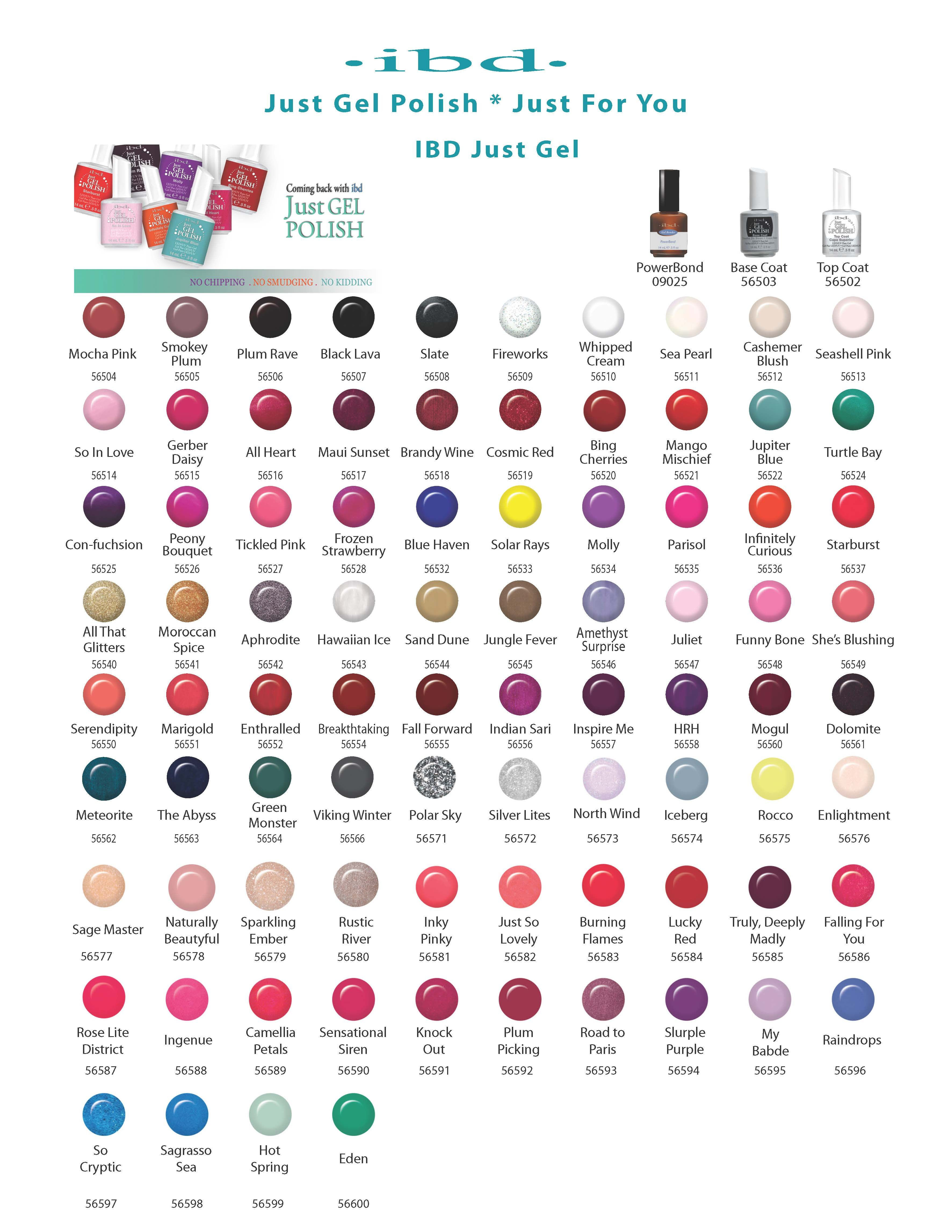 Ibd color chart webg avon nail polish gel also pin by toni rodriguez on nails  beauty colors rh pinterest