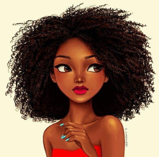 Character Design Black Art Black Girl Art Natural Hair Art
