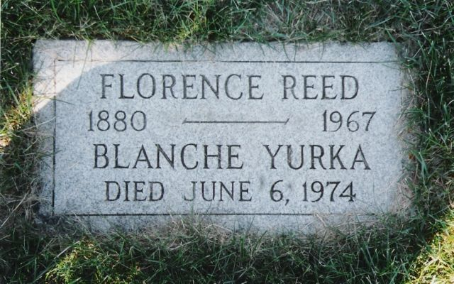 """Blanche Yurka - Actress. Born in St Paul, Minnesota, she was an opera singer when she made her debut as a character actor on Broadway in 1910. Turning to the screen, she is most remembered for the role as the vicious Madame Defarge in """"A Tale of Two Cities"""" (1935). Among her many film credits were """"Song of Bernadette"""" (1943), """"A Night to Remember"""" (1943) and """"13 Rue Madeleine"""" (1947)."""