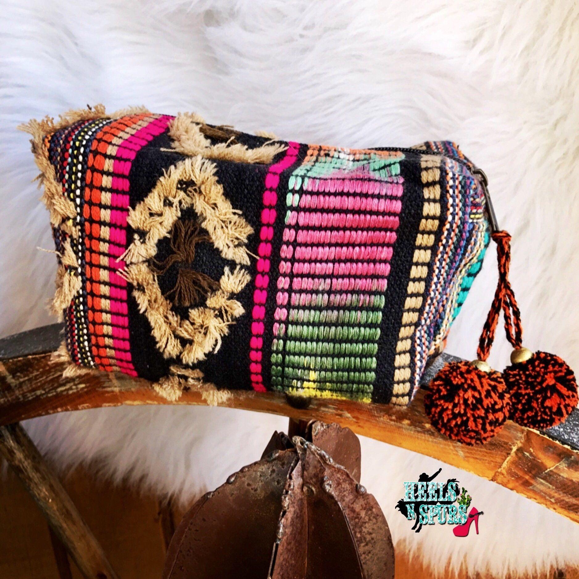 Boho Make Up Bag Bags, Makeup bag, Accessories
