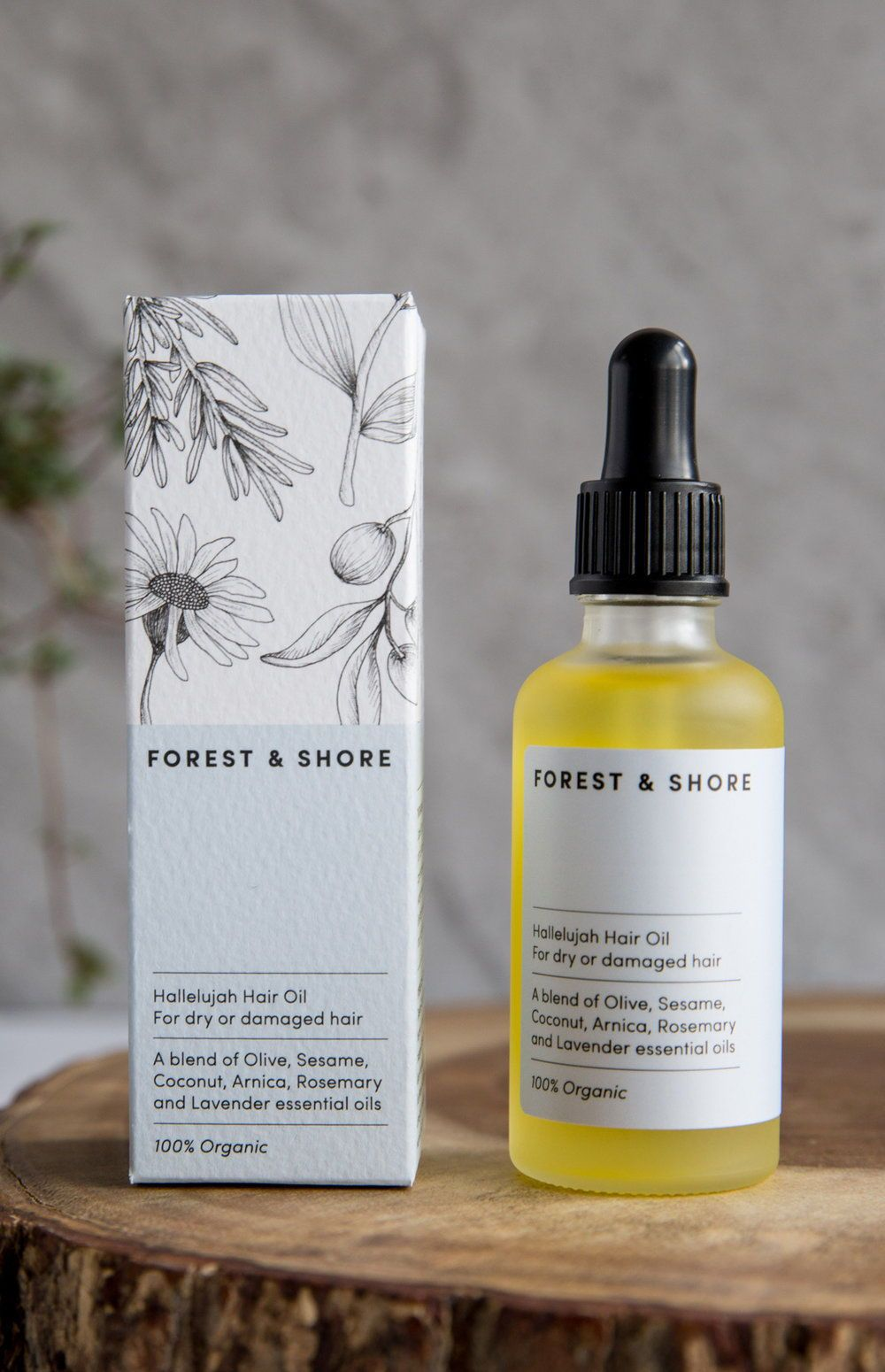 The Beautiful Feminine Packaging Of Forest Shore Skincare